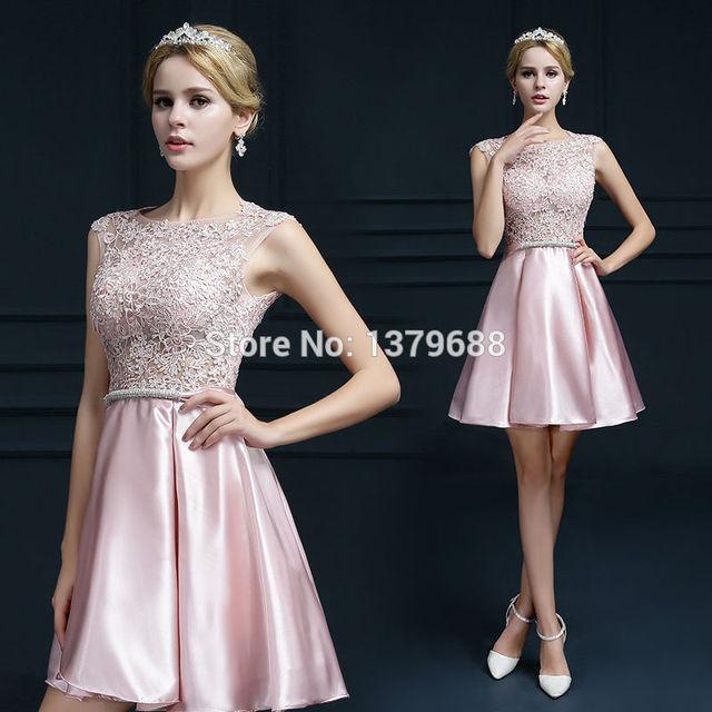 2016 новый дизайн мини короткие платья элегантный коктейль аппликации V-открытие ...