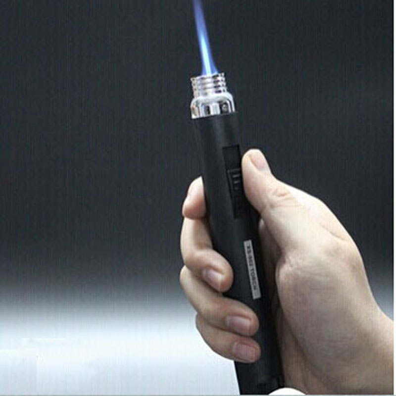 Portable Butane Gas Torch Flamethrower Flame Lighter Outdoor Camping BBQ Welding Soldering Brazing Tool(China (Mainland))
