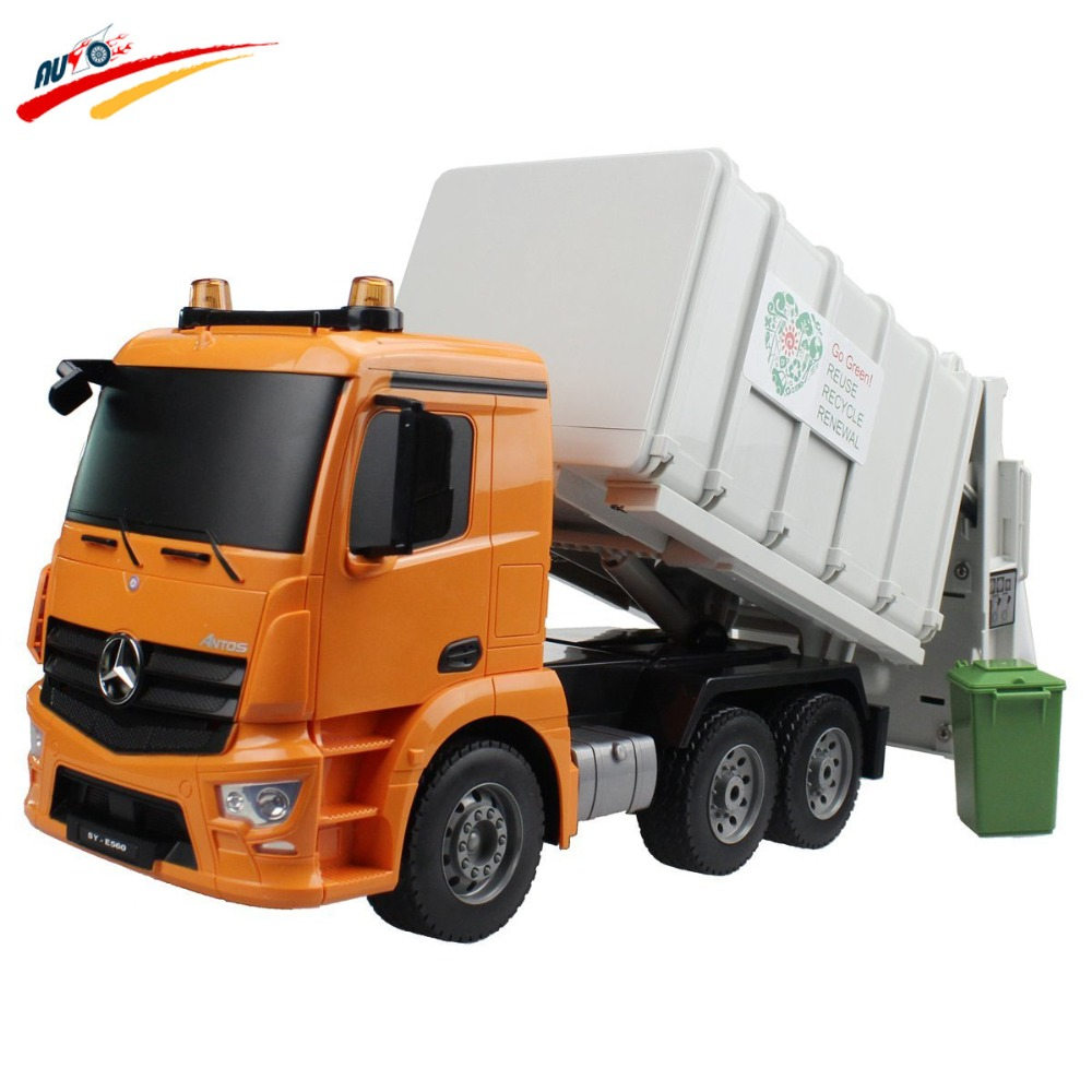 2.4G Radio System Control Multifunction Professional Construction Fire Truck/ RC Garbage Truck/RC Cement Mixer/RC Crane Truck(China (Mainland))