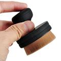 Circle Oval Foundation Brush Flat Cream Makeup Brush Professional Cosmetic Makeup Brush Loose powder Hair Brush