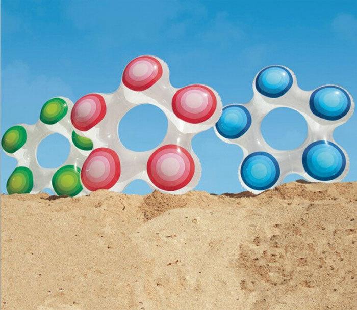 Intex 59248 étoiles enfants gilet de sauvetage anneau de natation gonflables bouée piscine enfants cercle entre 3 anos vieux et 6 anos vieux()