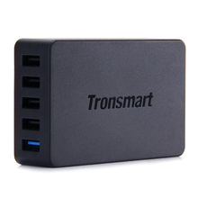 Tronsmart Phone Charge 2.0 5 Ports Desktop USB Wall Charger For Samsung