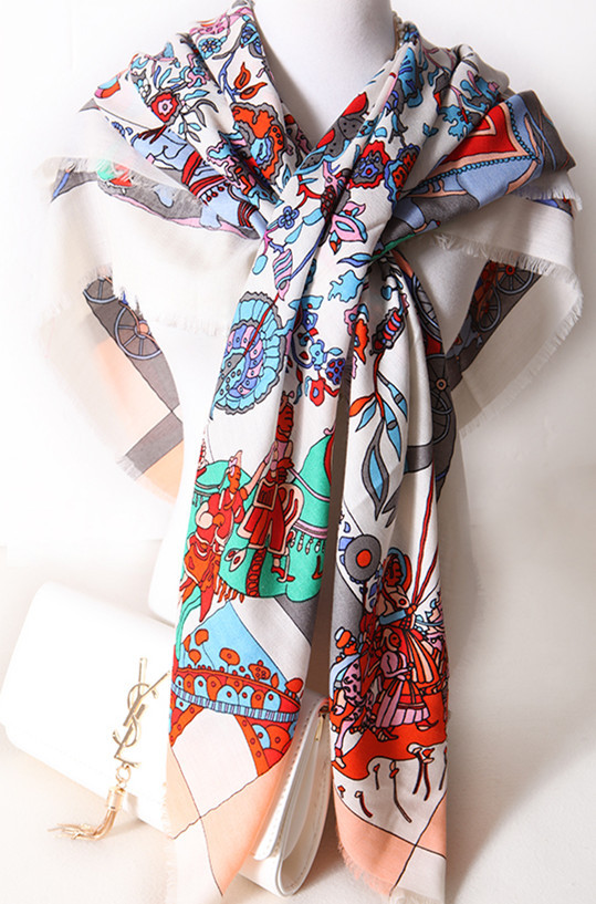 135x135cm cashmere silk printed Indea style big square burrs scarf shawl pashmina 4colors $100 free shipping