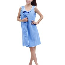 100% nouvelle maillots de bain de douche Body Spa Bath Wrap Robe serviette peignoir pour dame(China (Mainland))