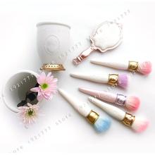 make up brush holder Makeup Brushes holder mirror blending powder Foundation contour makeup brush set(China (Mainland))