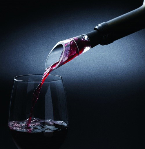 Red wine pouring device wine guide stainless steel sobering device wine stopper wine(China (Mainland))