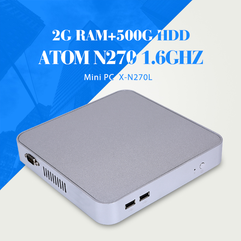 Facrory Competitive Price MINI PC N270 2g ram Industrial Computer Desktop Computer Thin Client Pc Station Thin Client With Hdmi<br><br>Aliexpress