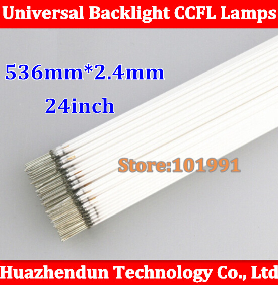 10PCS Free Shipping NEW 536mm for 24inch TV lamp backlight 24'' sreen LCD CCFL lamp backlight tube(China (Mainland))