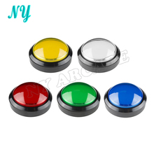 1 pcs 100mm 10cm 5 colors Jumbo Dome Illuminated Arcade Push Button Switch Machine Pressure Controler Switches(China (Mainland))
