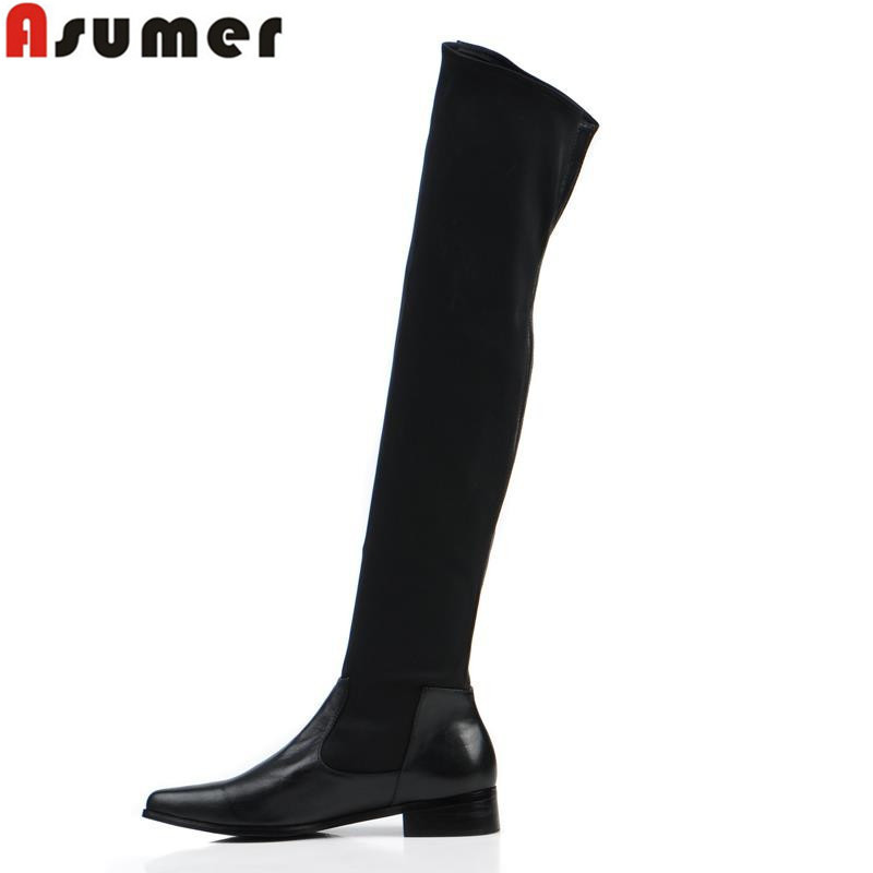 2014 New Autumn Winter Brand Fashion Over The Knee Women's Shoes