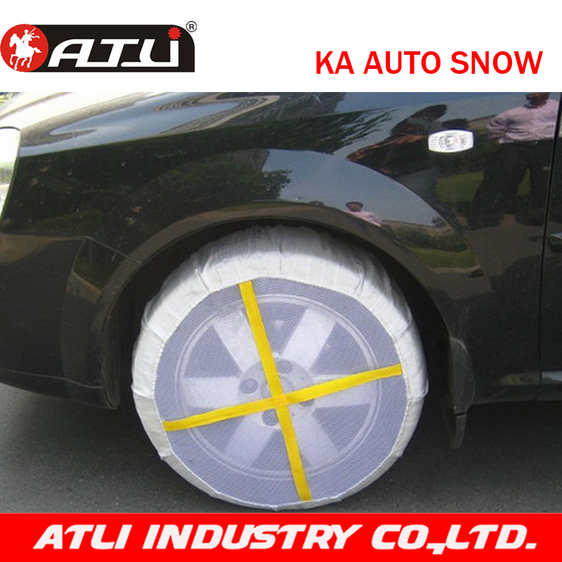 ATLI wholesale KA autosock textile tyre cover fabric snow chain for car in winter 1 pair(China (Mainland))