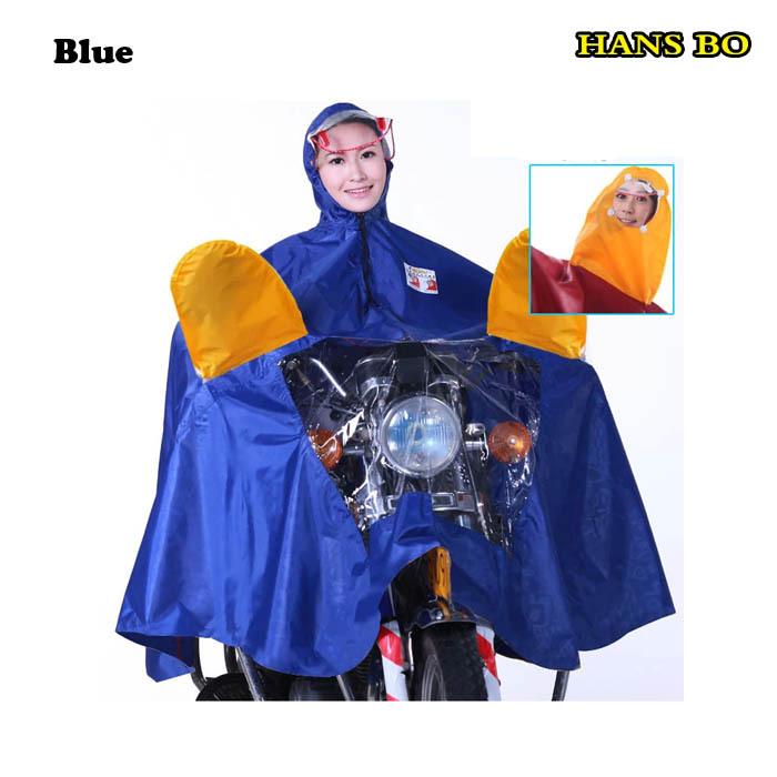 Бесплатная доставка 6 цвет человек и девушку водонепроницаемый деления плащ костюм мотоциклов плащ дождя, Пончо оптовая продажа Polyster