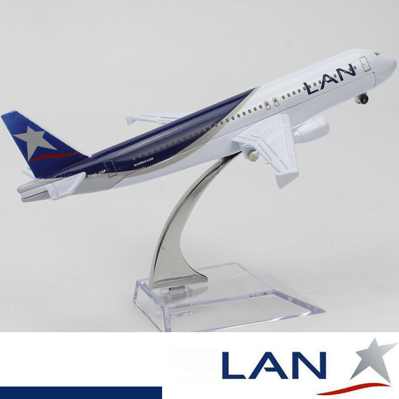 A320 LAN Airlines Planes Model Aircraft Air Vehicles Toy 16cm Solid Metal Alloy Chile Airline Model Planes Model Collectibles(China (Mainland))