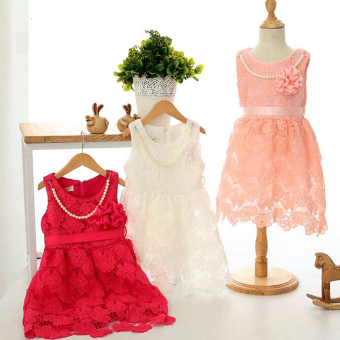 children wedding dress for girls 2-7 years lace flower toddler girl dresses elegant princess dresses for girls sundress girl(China (Mainland))