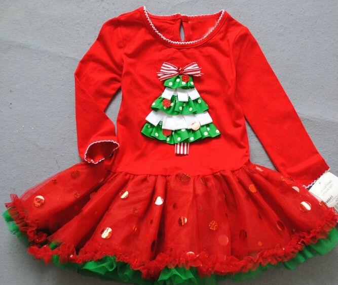 girls christmas dress santas children clothing suits  Clothes<br><br>Aliexpress