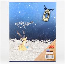 200 Sheets 4D Big 6-inch Photo Insert Photo Album Scrapbook Paper Memorial album Baby Family Scrapbook Albums Wedding Foto Album(China)
