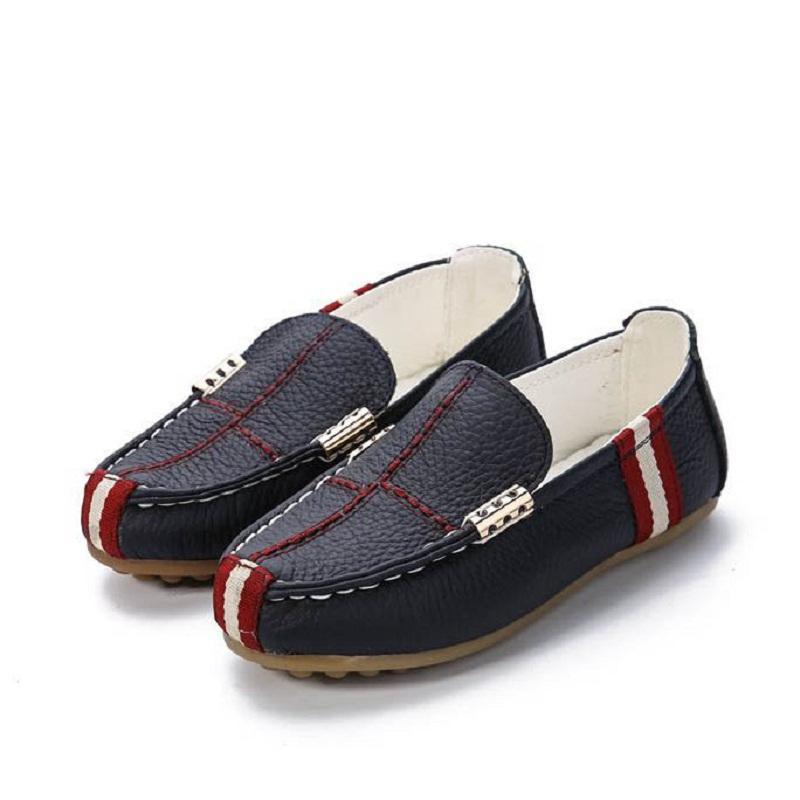 2015 new boys leather shoes autumn fashion children