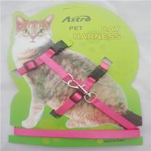 1 Pcs  Nylon Adjustable Cat Walking Harness Cat Tightening(China (Mainland))