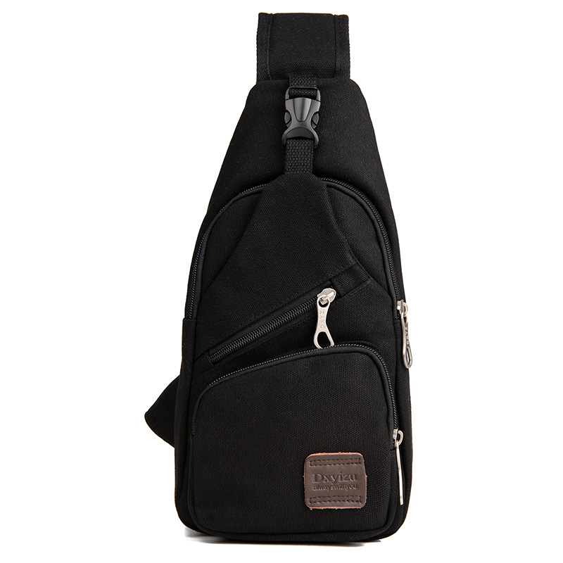 New Sling Bag Canvas Chest Pack Men Messenger Bags Casual Travel Fanny Flap Male Small Retro Shoulder Bag 16*7*33 Cm(China (Mainland))