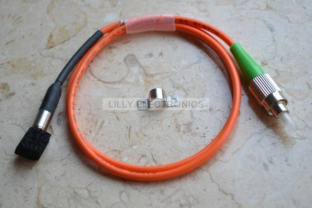 405nm >5mW Pigtail Fiber Laser 62.5/125um FC/UPS(China (Mainland))
