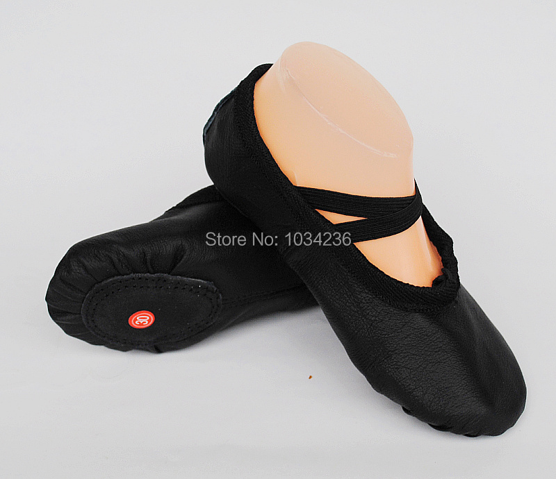 Women Ballet Dance Shoes Adult And Children Genuine Leather Soft Sole Dancing Shoes Practice Shoes Ballet Shoes(China (Mainland))