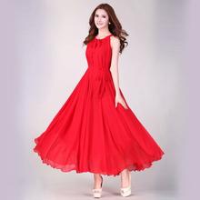 2016 Summer Maxi Dress Long Summer Sundresses Chiffon White Bohemian Dress Long Dress Novelty Summer Dresses Elegant Clothing(China (Mainland))