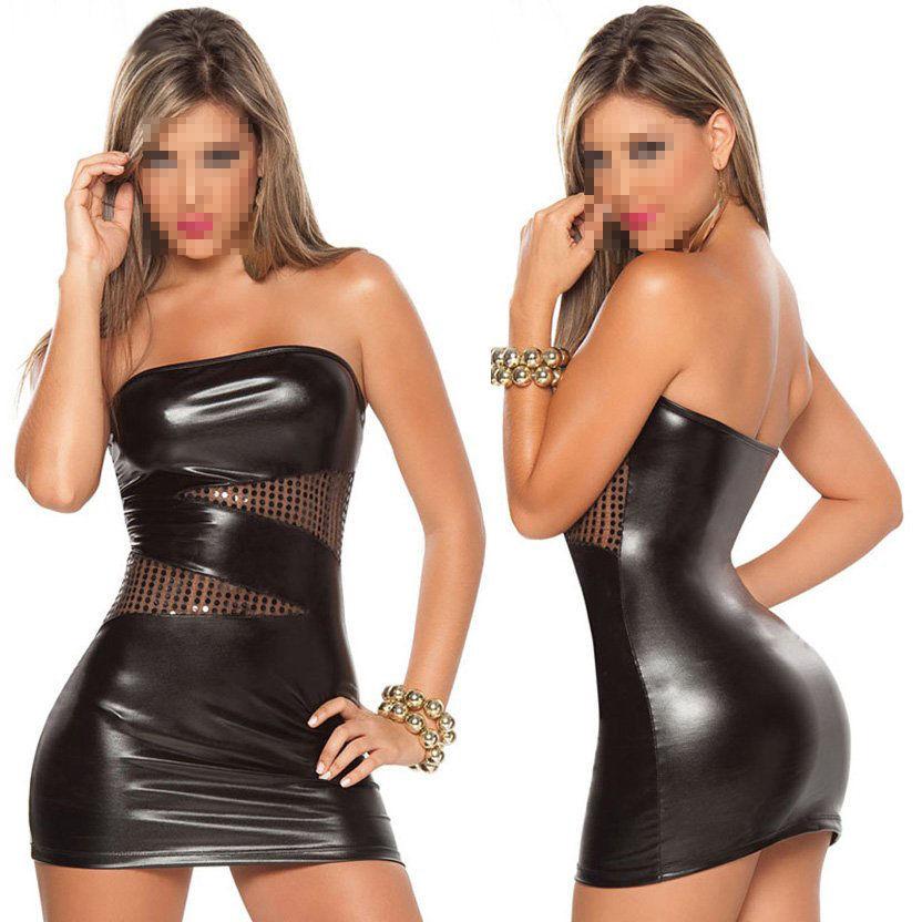 Walson dress g BabyDoll бюстье fishnet garter dress