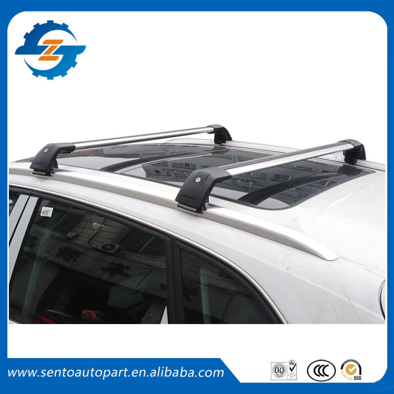 High Quality 2 Pieces Aluminium Alloy roof rack cross bar fit for BMW X1(China (Mainland))