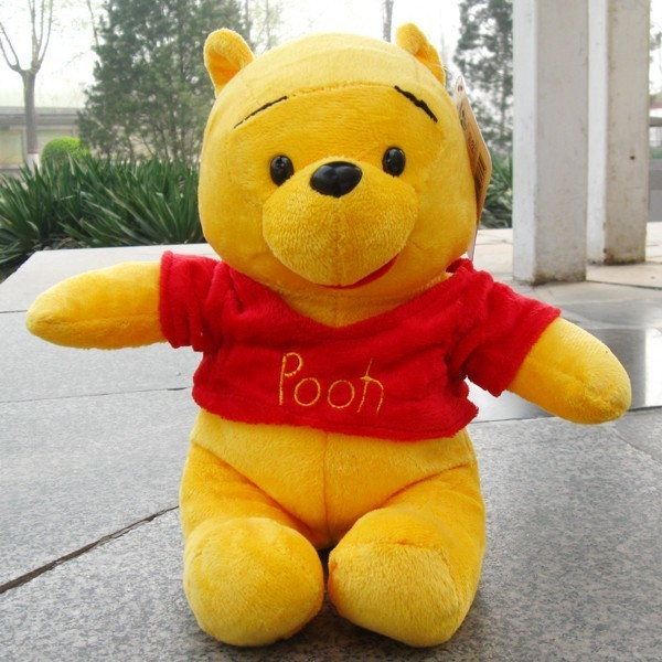 Cute Loverly  Winnie  bear stuffed animals soft toys plush doll 50CM special kids gifts(China (Mainland))