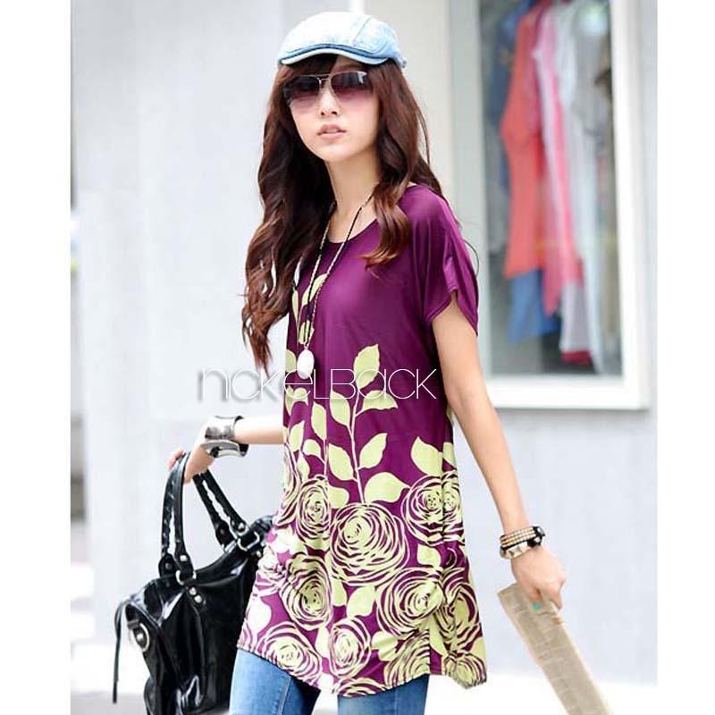 Женская футболка E-wear s 4Colors ZHY001
