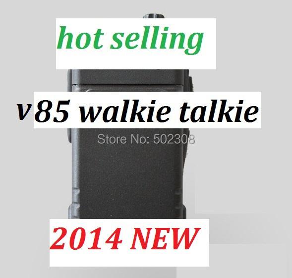 OEM V85 walkie talkie powerful range VHF 136-174MHZ handheld radio hot selling(China (Mainland))