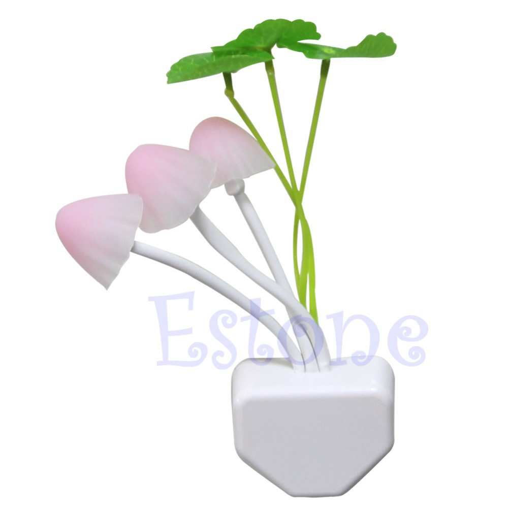 Гаджет  J34 Free Shipping EU/US Colorful Romantic LED Mushroom Night Light DreamBed Lamp Home Illumination None Свет и освещение