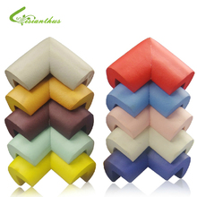 8pcs/ lot Soft Baby Safe Corner Protector Baby Kids Table Desk Corner Guard Children Safety Edge Guards Wholesale Free Shipping(China (Mainland))