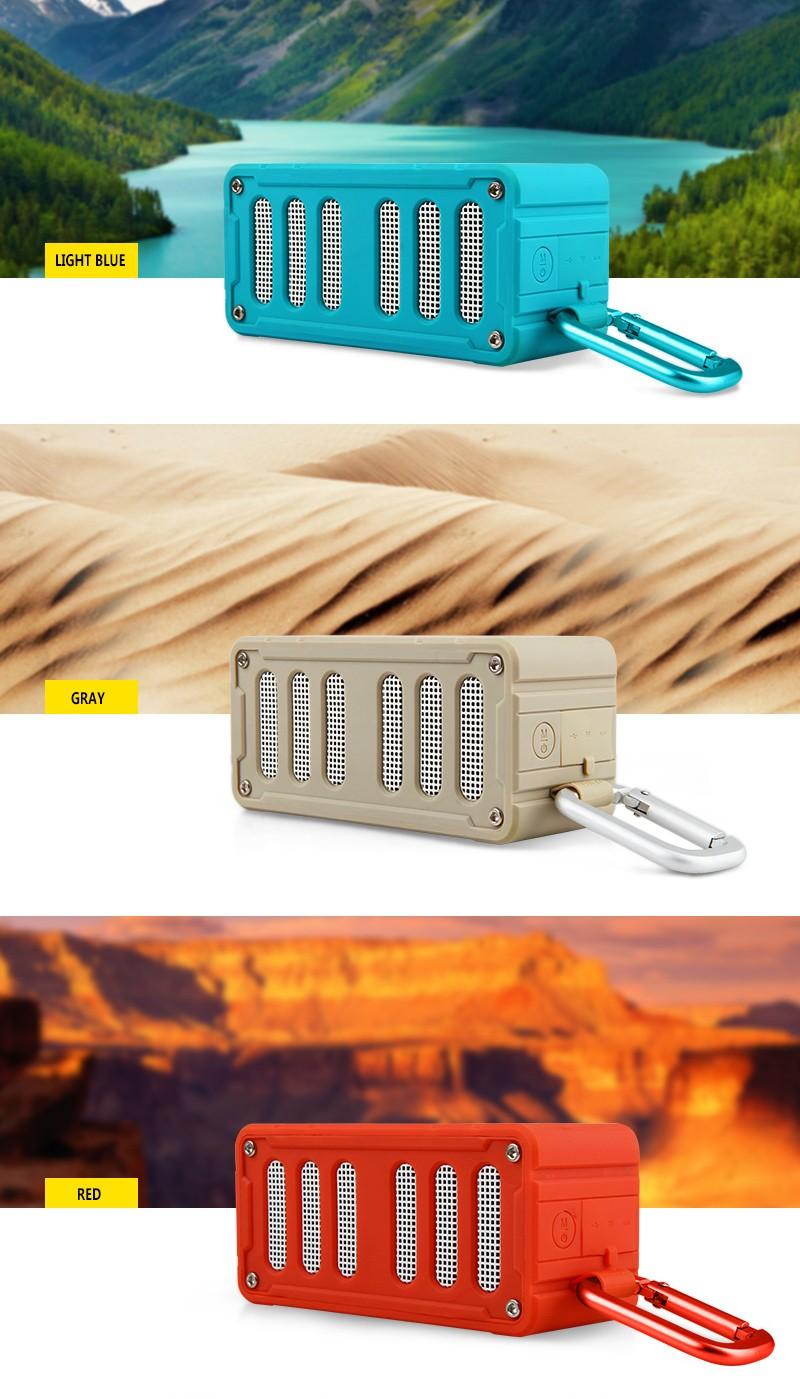 ถูก MIFA F6 NFCบลูทูธลำโพงกลางแจ้งลำโพงไร้สายกันน้ำIPX4เข้ากันได้สเตอริโอSound Bar TFสำหรับIphone6/6วินาที, Ipad, Samsung