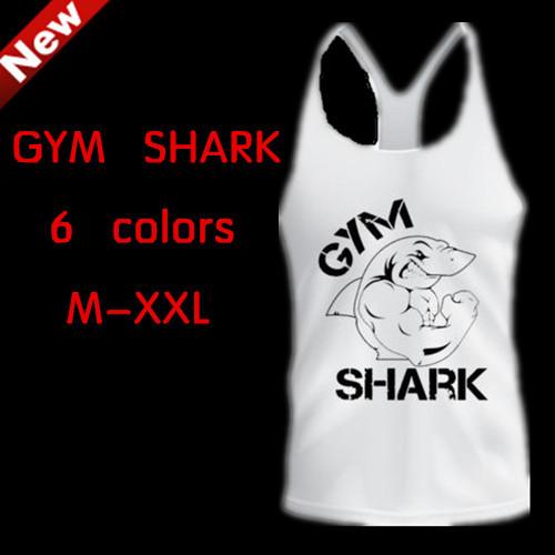2014 Bodybuilding Cotton Vest gymshark Gym Tank top T Shirt Sport Large Size XXL Fit 100KG Men's sleeveless - zhejiang Ronda industrial co., LTD store