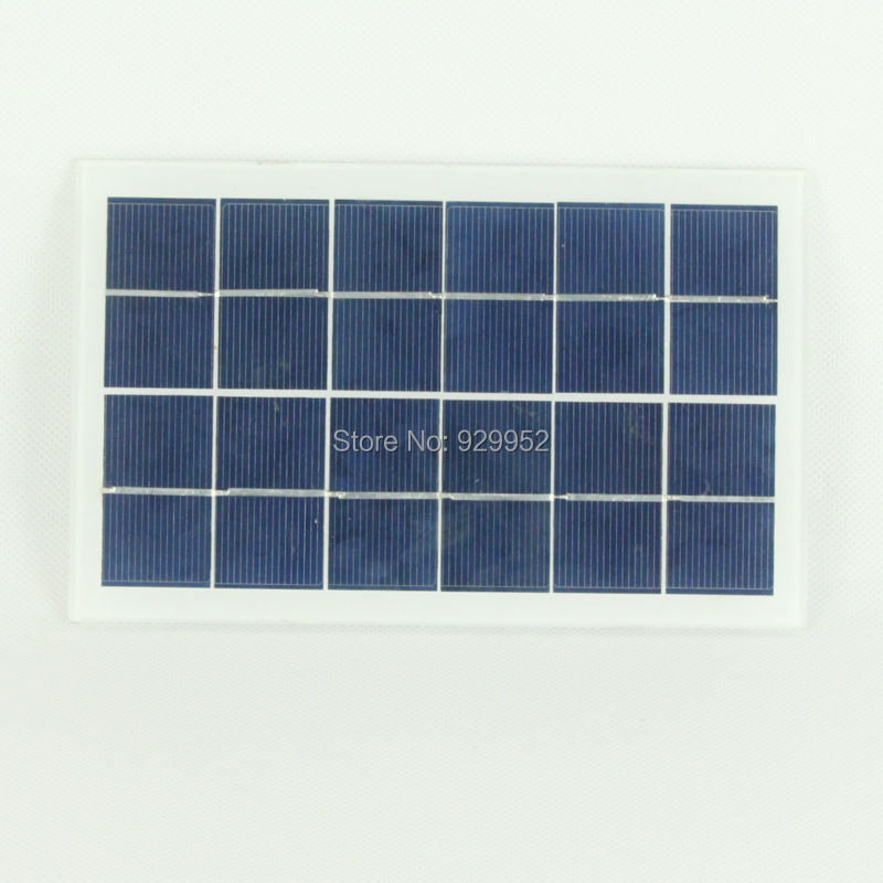 Mini 5V 2.3W 460ma Solar Panel Solar System Module DIY For Battery Cell Phone Chargers Portable Drop Shipping