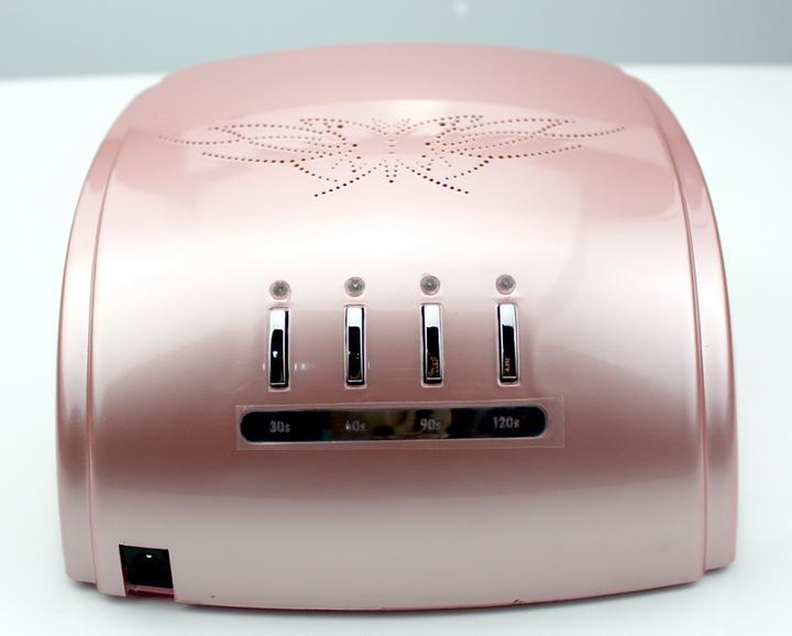 60w nail dryer White Black Pink uv light to nail lamp, 24w CCFL UV Lamp+36w LED Nail Lamps With 4 Timer 110-240V(China (Mainland))