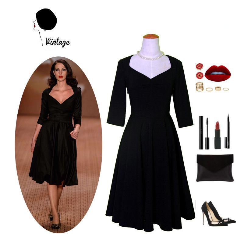 plus size dresses 1940s