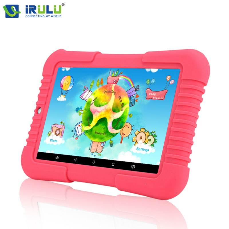 """Original iRULU Y3 7"""" Babypad 1280*800 IPS Quad Core Tablet Android 5.1 1G RAM+16G ROM with Silicone Case Tablet PC For Children(China (Mainland))"""