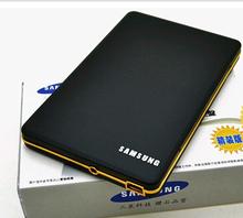 free shipping New 2014 samsung 2TB hd externo portable external hard disk drive USB 2.0 Black hdd+Q1(China (Mainland))