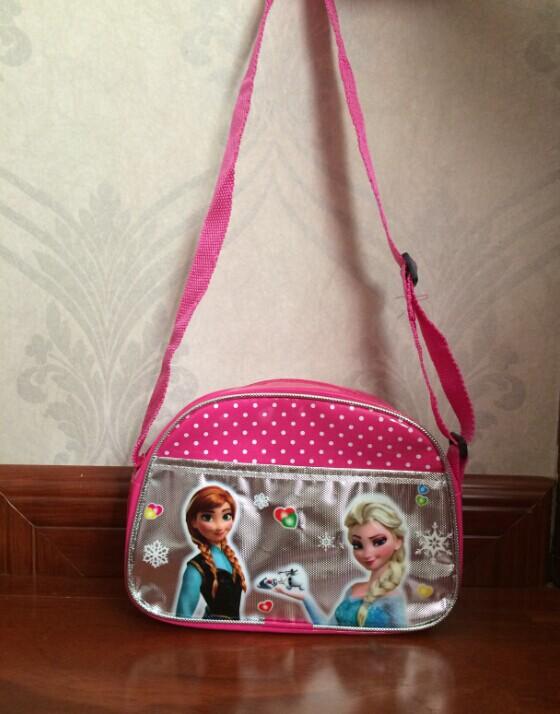 Гаджет  2015 new arrival elsa and anna crossbody bag tote handbag shopping bags for kids girl birthday gifts None Камера и Сумки
