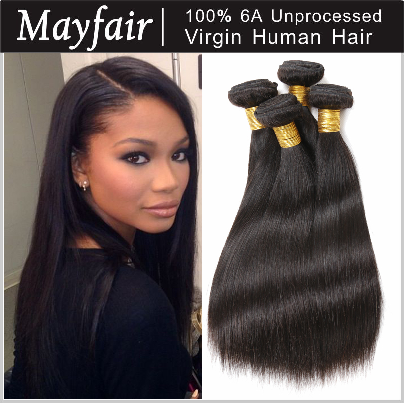 brazilian virgin hair straight best 6a ali moda hair products cheap unprocessed remy human hair wave 3 pc aliexpress hair online(China (Mainland))