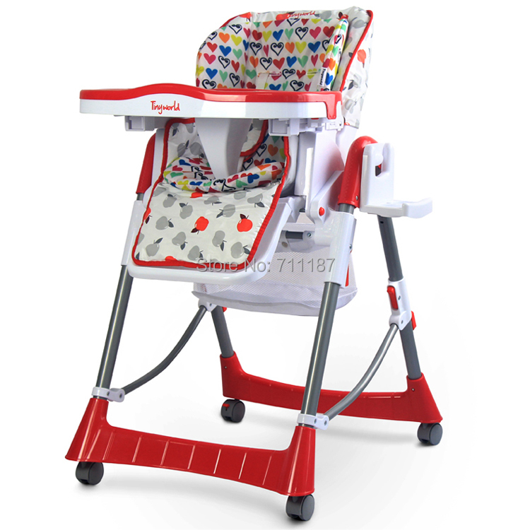 Good Brand Tiny World Professional Plastic Baby High Chair / Dining Chair<br><br>Aliexpress