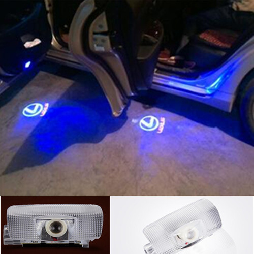 LED Car Door Welcome Light Laser Car Door Shadow led Projector Logo For Lexus RX300 RX330 RX350 IS250 LX470 is200 is300 ls400(China (Mainland))