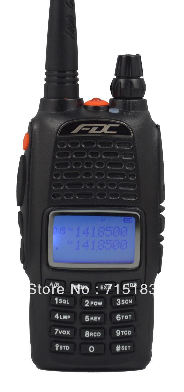 New Dualband Radio FEIDAXIN FDC FD-880 136-174 & 400-480Mhz two way radio walkie talkie FD880 best for hotel,HAM,security use(China (Mainland))