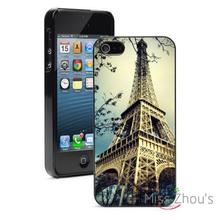 Vintage Eiffel Tower Photo Protector back skins mobile cellphone cases for iphone 4/4s 5/5s 5c SE 6/6s plus ipod touch 4/5/6