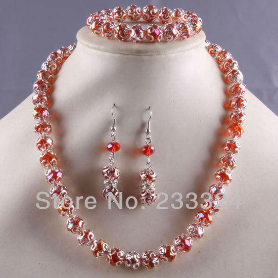 Ювелирный набор LiSa-Jewelry Bracelet /e601 браслет на шнурках lisa jewelry 7 1 h323 363 fh323 363
