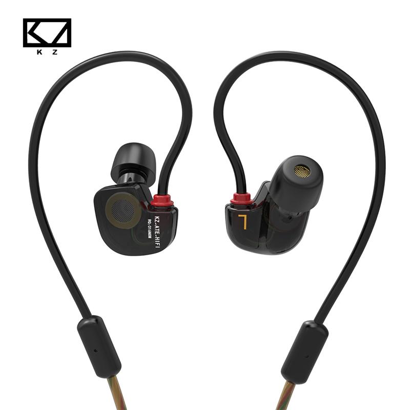 New Original KZ ATE S In Ear Earphones HIFI KZ ATE S Stereo Sport Earphone Super