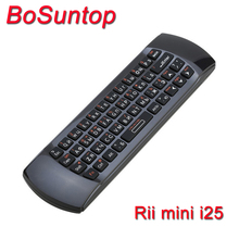 Original Rii mini i25 K25 2.4G Wireless Russian Keyboard Fly Air Mouse IR Remote for Gaming TV Box Stick Computer Accessory
