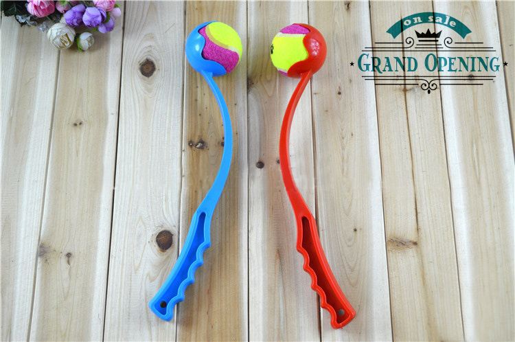 Dog Ball Launcher Tennis Ball Toy Thrower Stick - Good for Small to Large Pets(China (Mainland))